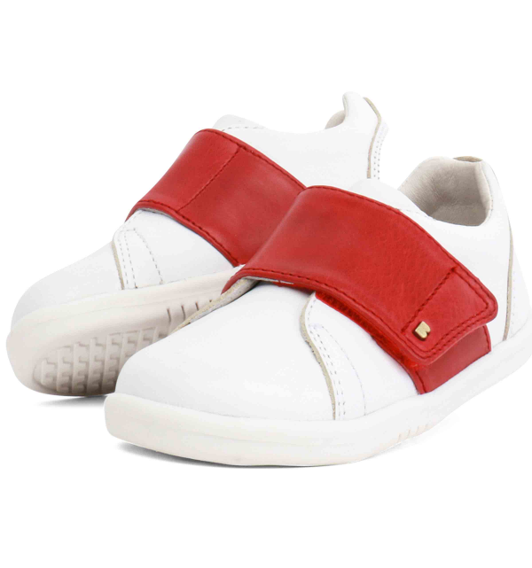 Step Up BOSTON TRAINER - White & Red