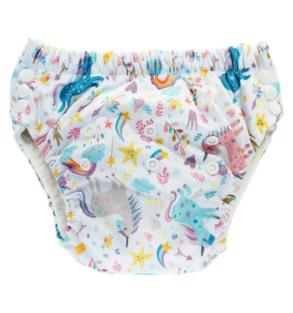 Trainer Pants regolabili in bamboo - Unicorn