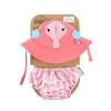 Set Baby Costumino Contenitivo + Cappellino, CAVALLUCCIO MARINO con protezione solare UPF 50+