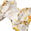 Pannolino lavabile All-in 2 - Lama Bianco bottoncini