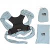 KoalaBabyCare Cuddle Band azzurra - Fascia elastica preannodata