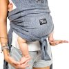 KoalaBabyCare Cuddle Band grigio - Fascia elastica preannodata