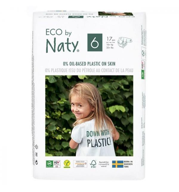 PANNOLINI Biodegradabili - TAGLIA 6 (16+ kg)