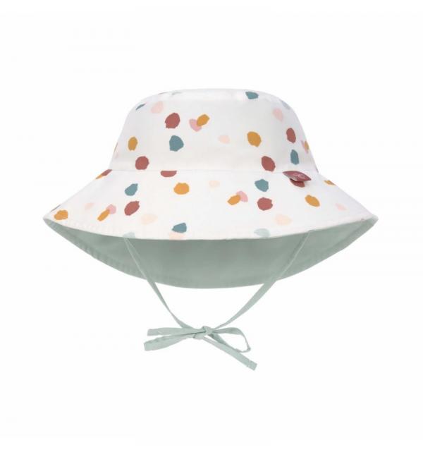 Cappellino reversibile con protezione solare - SPOTTED WHITE