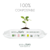 Eco by Naty -  SALVIETTE COMPOSTABILI ALOE VERA