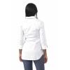 Camicia premaman manica tre quarti bianca