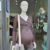 Maglia gravidanza e allattamento manica lunga a righe
