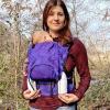 Marsupio ergonomico regolabile Regolo Kami Plumage Viola